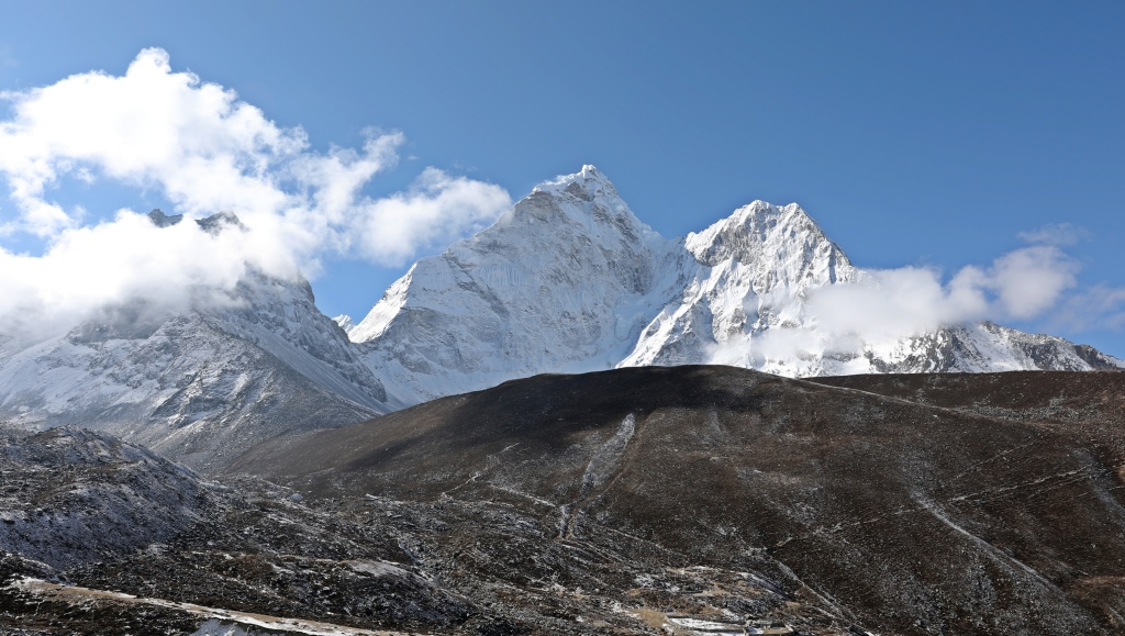 Ama Dablam from Chukkhung, Everest region