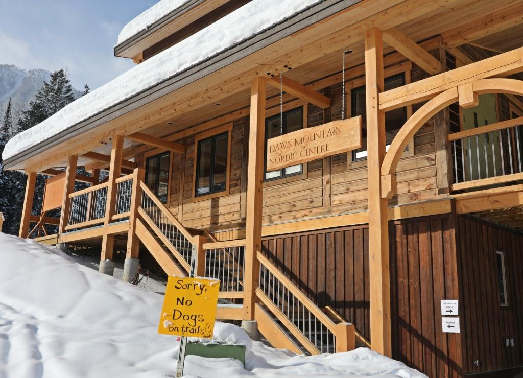 Dawn Mountain Nordic Centre, Golden, BC