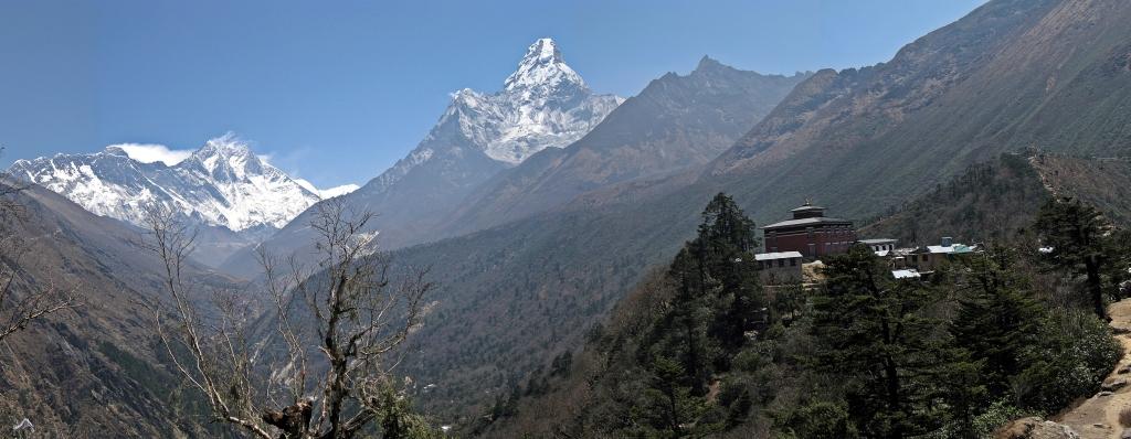 Tengboche gompa below Ama Dablam, Everest region