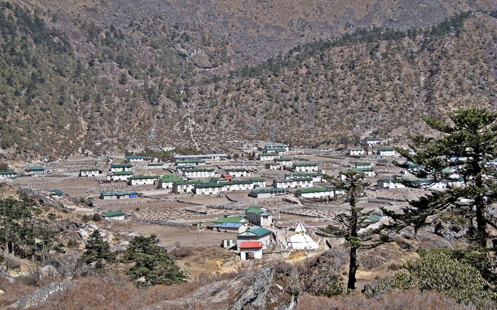 Khunde village, Everest region