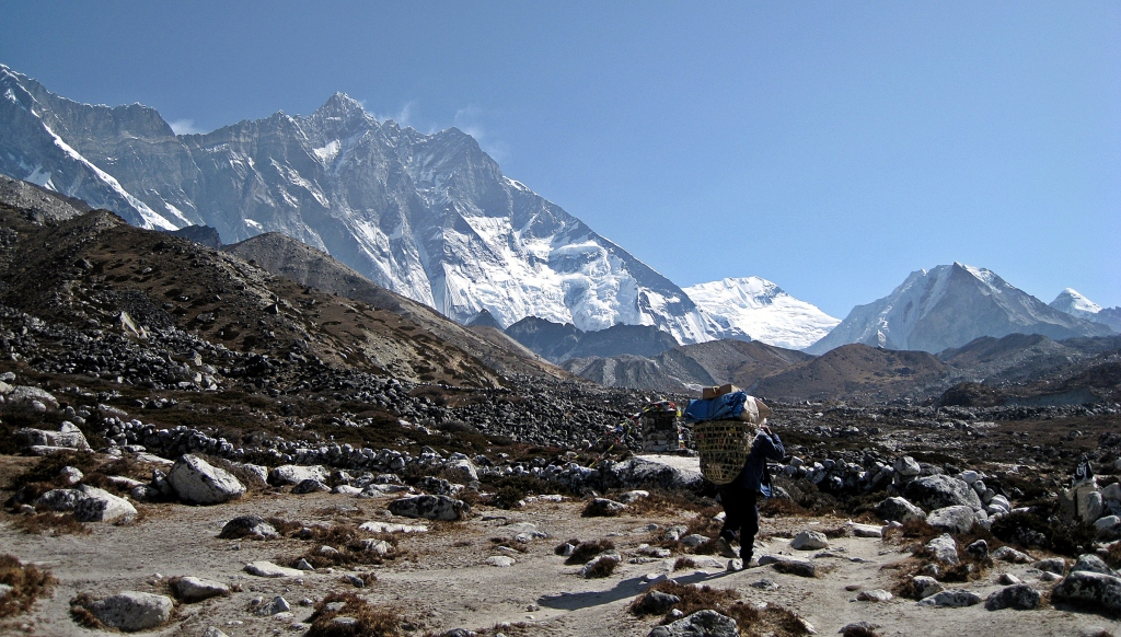 Before Chukkhung, Everest region