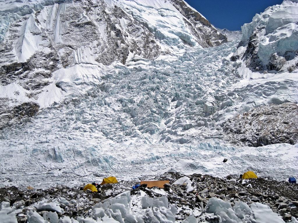 Everest Basecamp, Khumbu Icefall