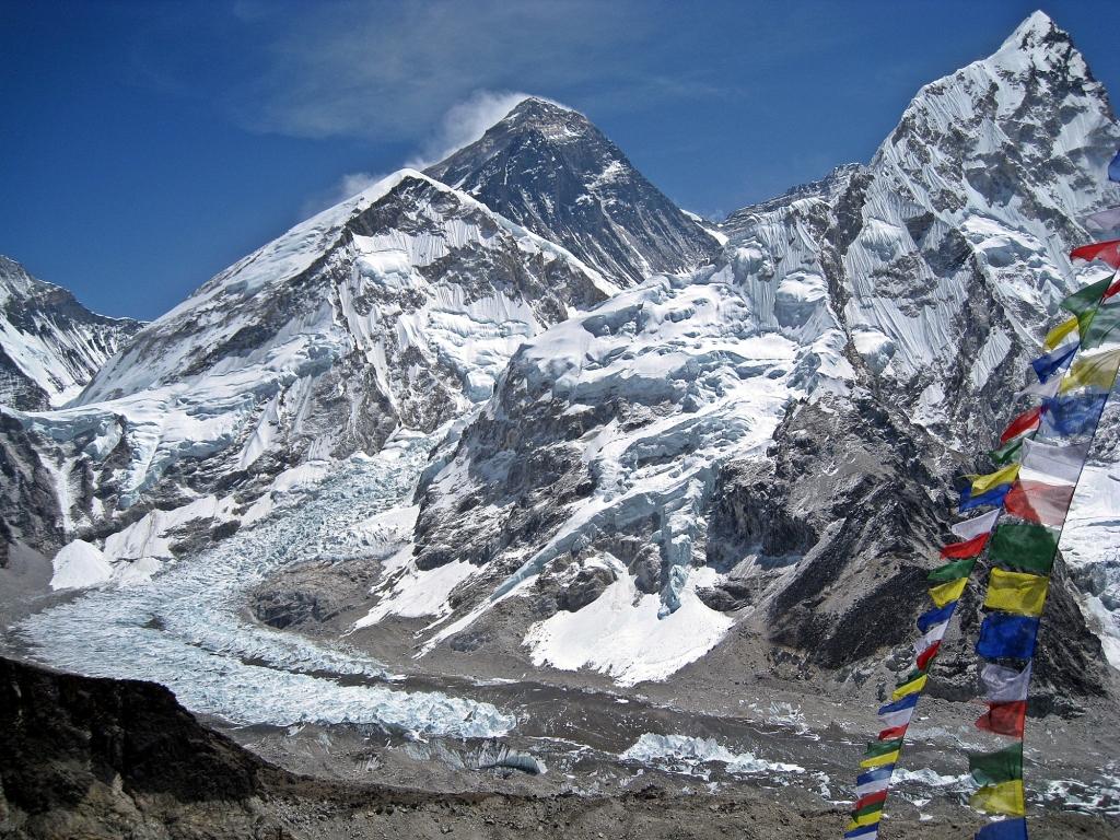 Everest summit from Kala Patthar