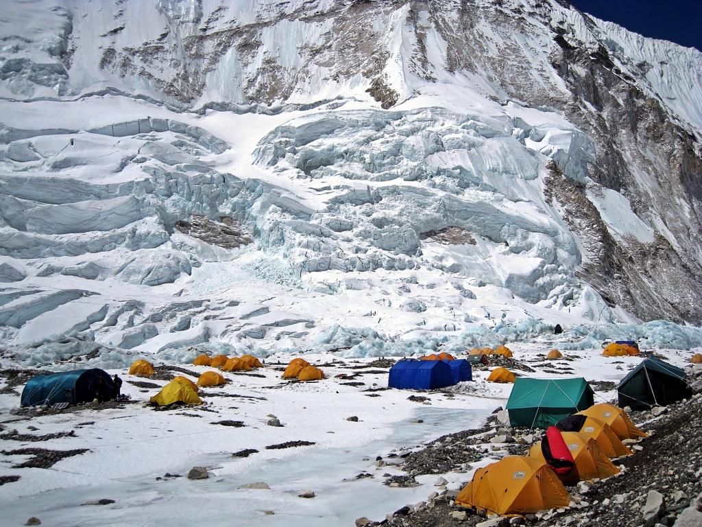 Camp II, Everest