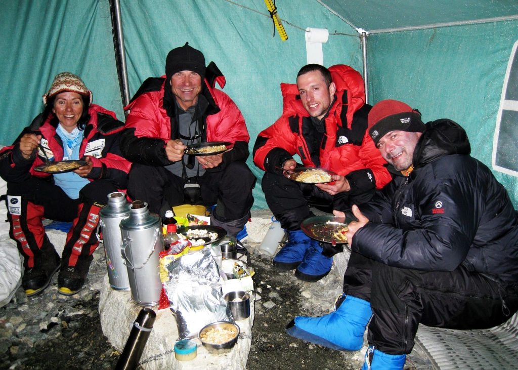Camp II dining tent, Everest