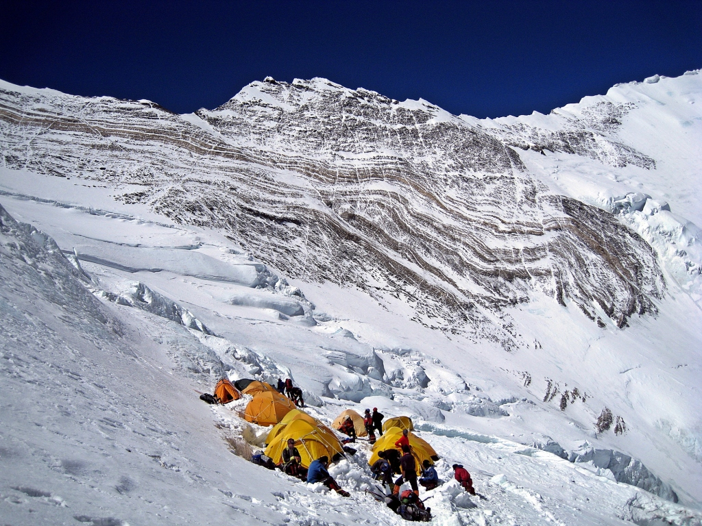 Lower tier, Camp III, Everest
