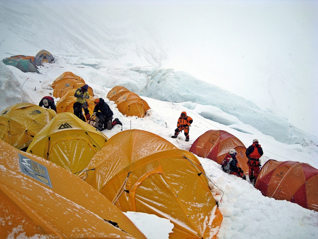 Camp III, Everest