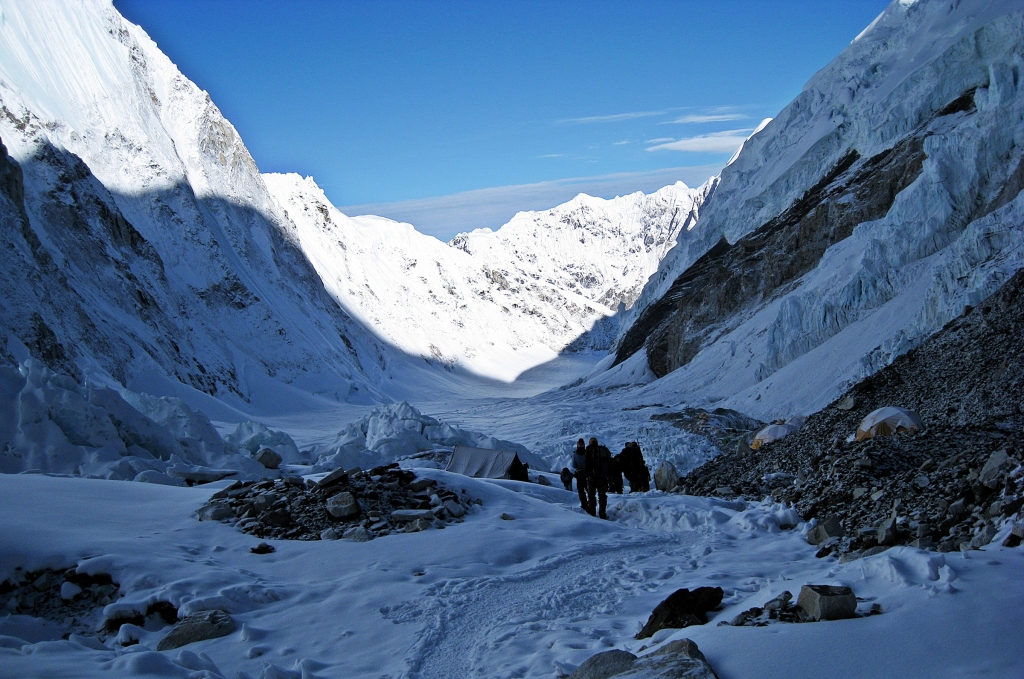 Lower Camp II, Everest