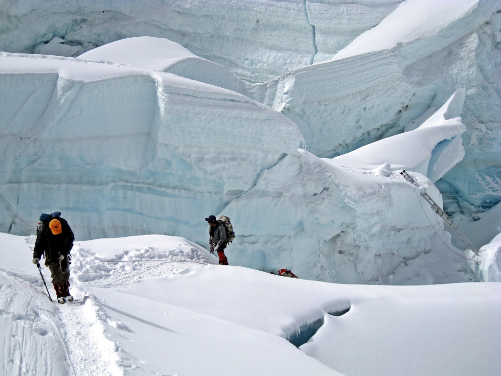 Khumbu Icefall, Everest