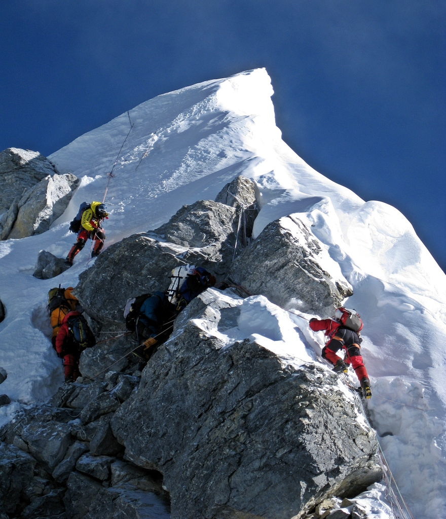 Hillary Step, Everest