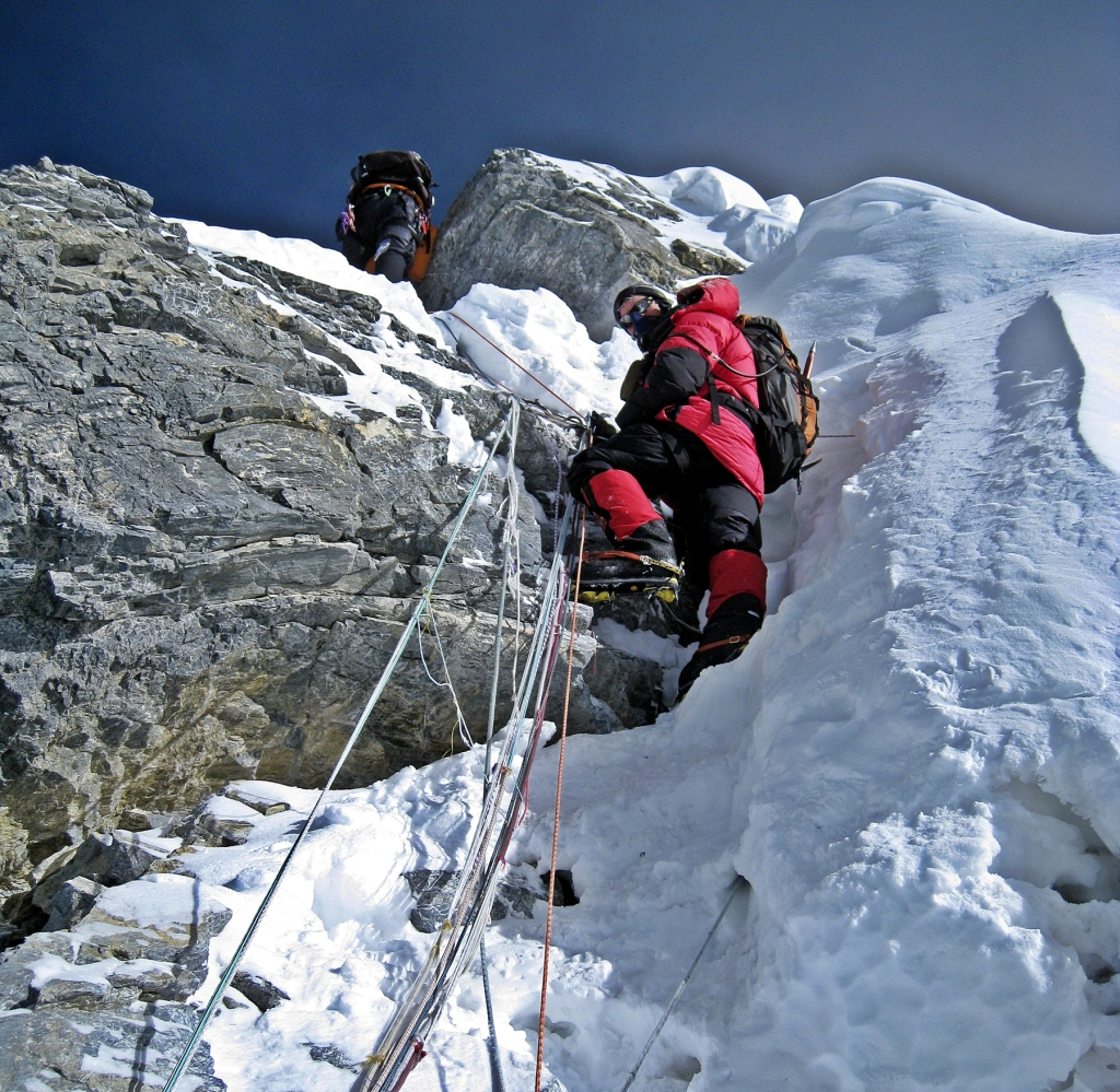 Richard, Hillary Step, Everest