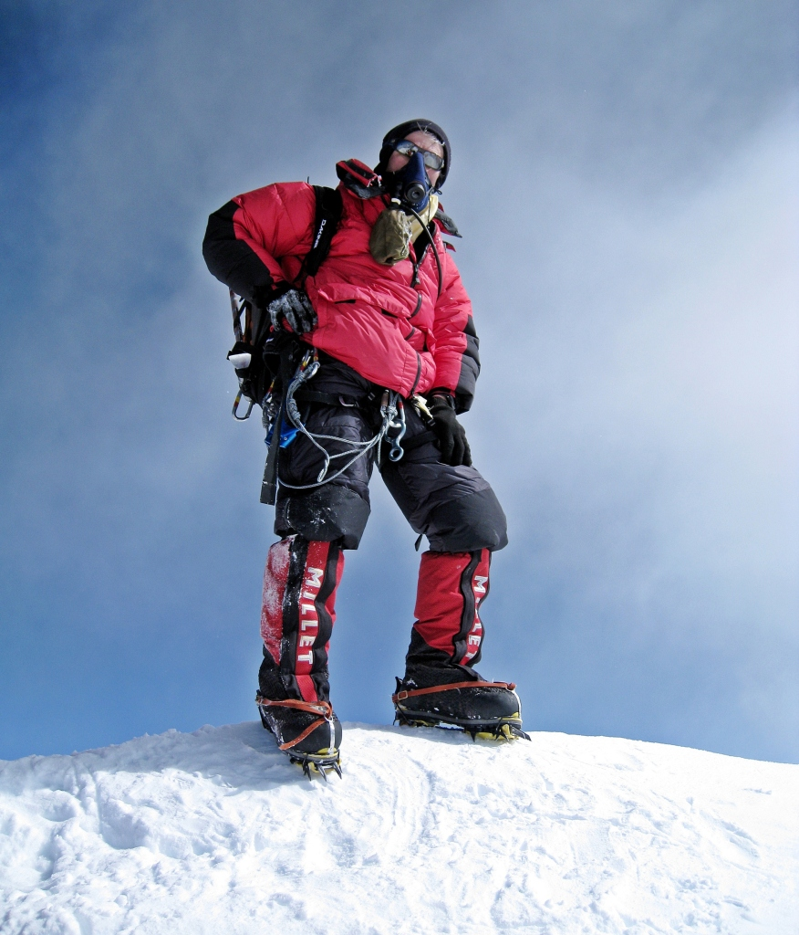 Richard, Everest summit