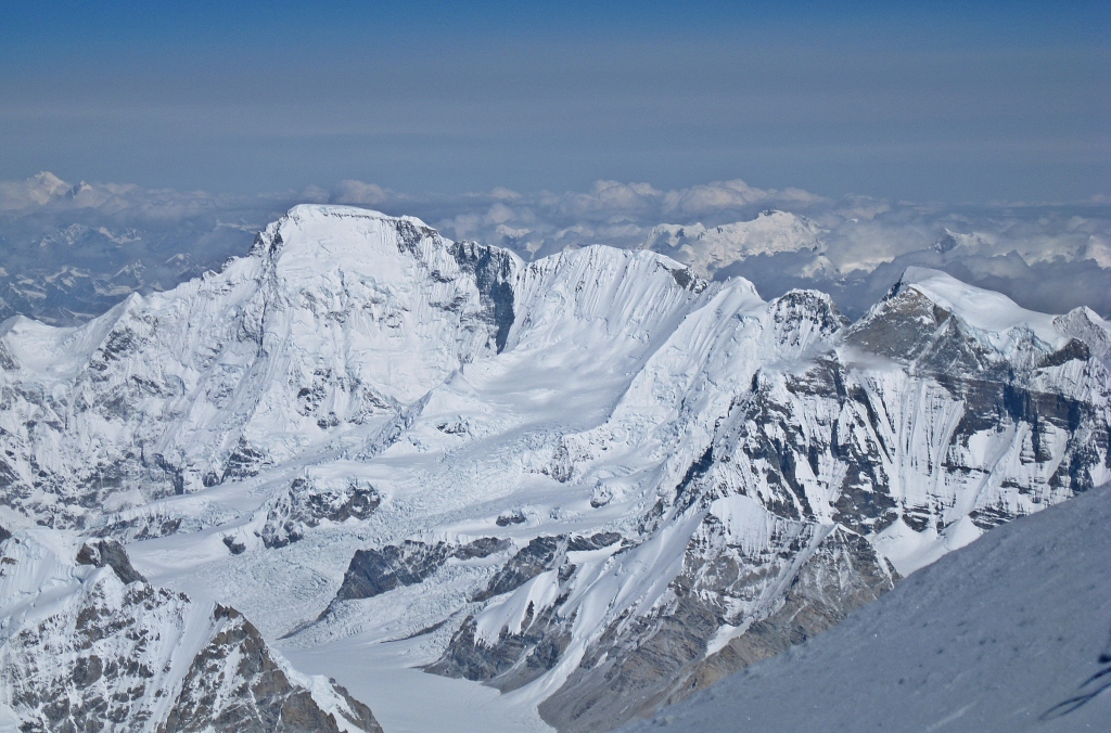 View of Cho Oyu from Everest summit