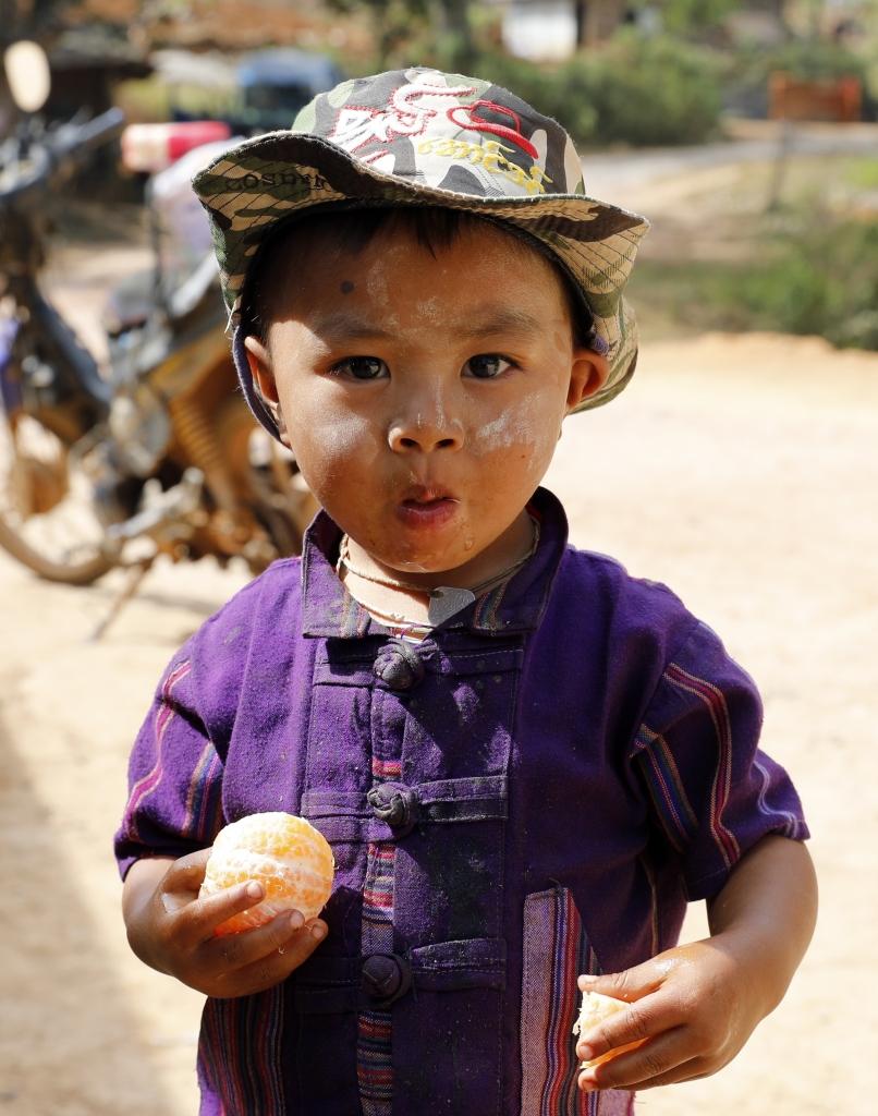 Local boy, Kalaw to Inle trek