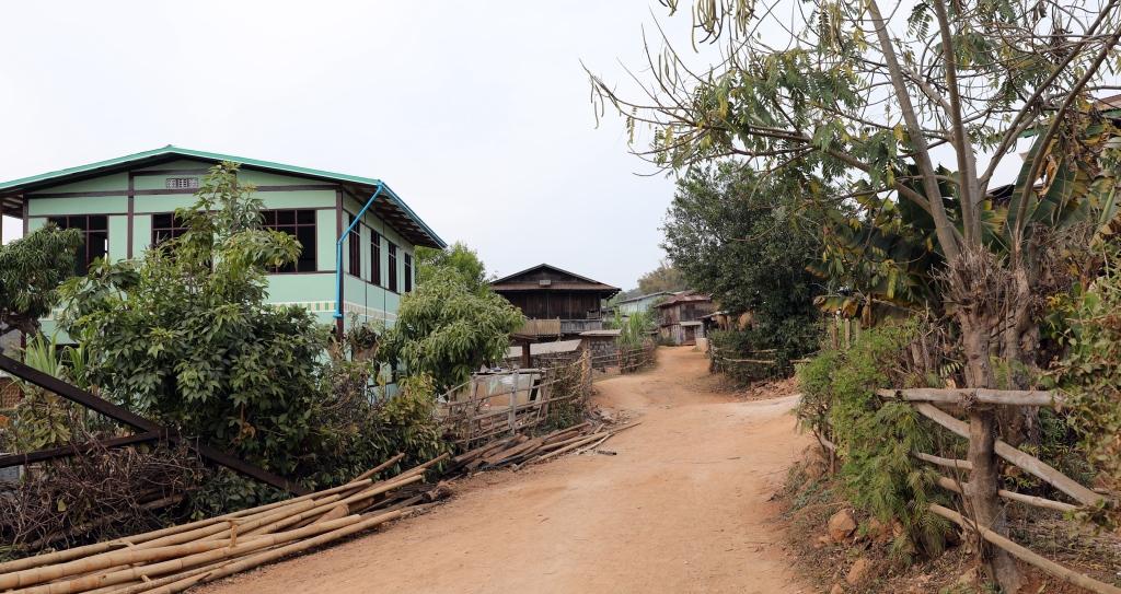 Village, Kalaw to Inle trek