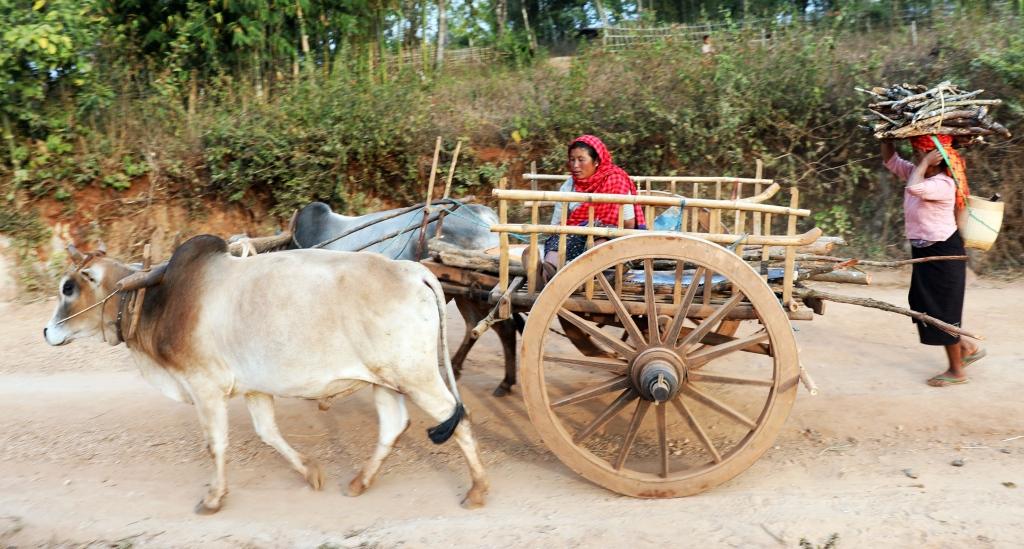 Villagers, Kalaw to Inle trek