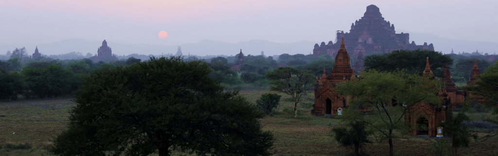 Dhammayangyi Pahta at sunset