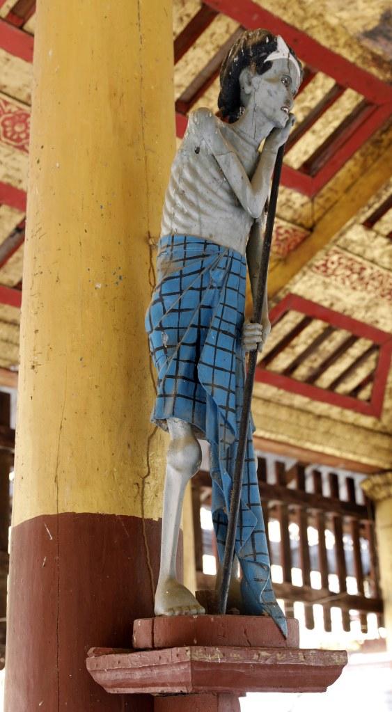 Nat spirit statue, Mt. Popa, Myanmar