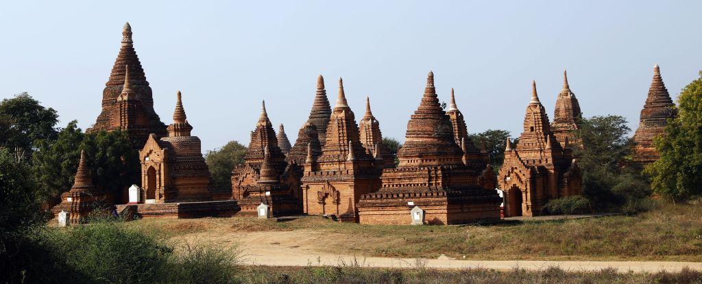 Stupas, Bagan