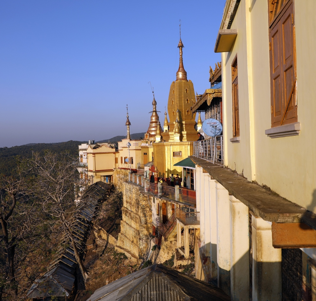 Mt Popa Monastery, Myanmar