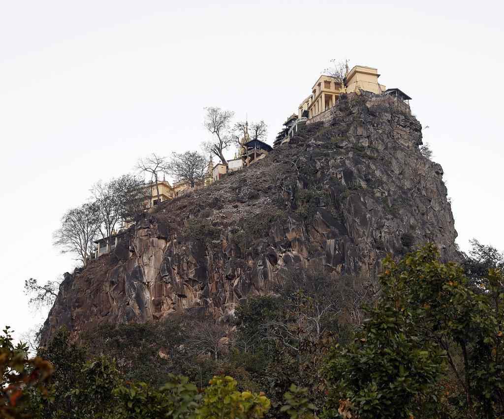 Monastery on Mt. Popa, Myanmar