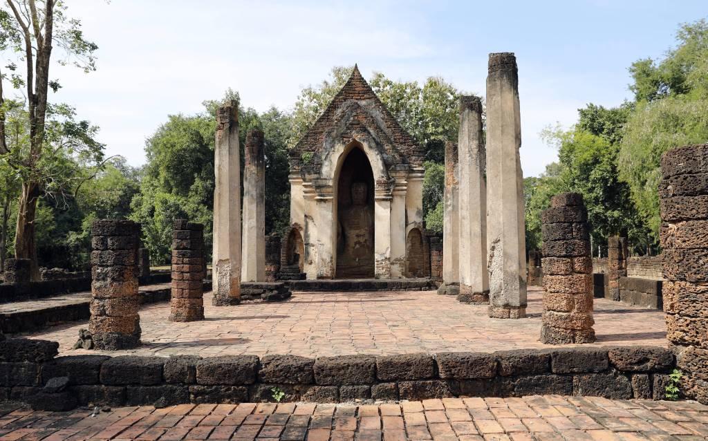 Wat Suam Kheo Utthayan Noi, Si Satchanalai