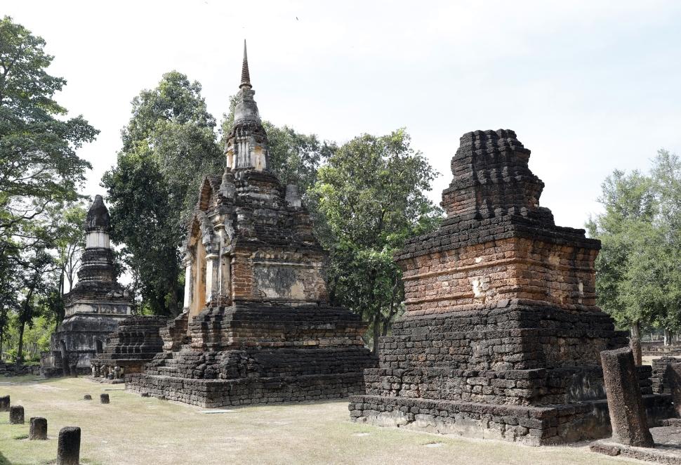 Ruins, Si Satchanalai