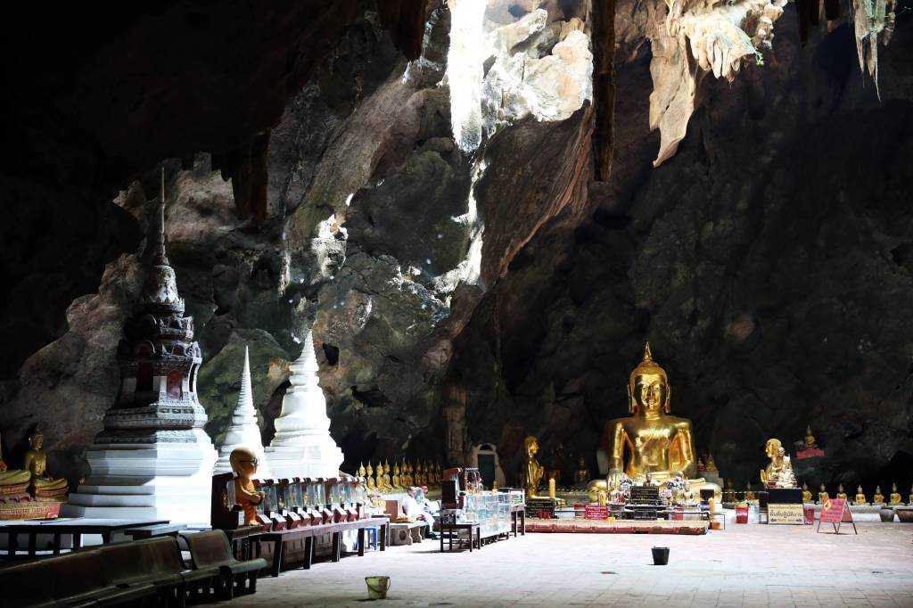 Khao Luang Cave, Phetchaburi