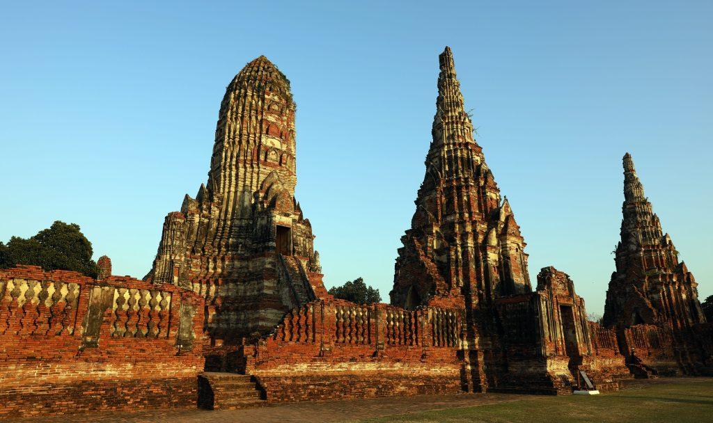Sunset glow, Wat Chaiwatthanaram, Ayutthaya