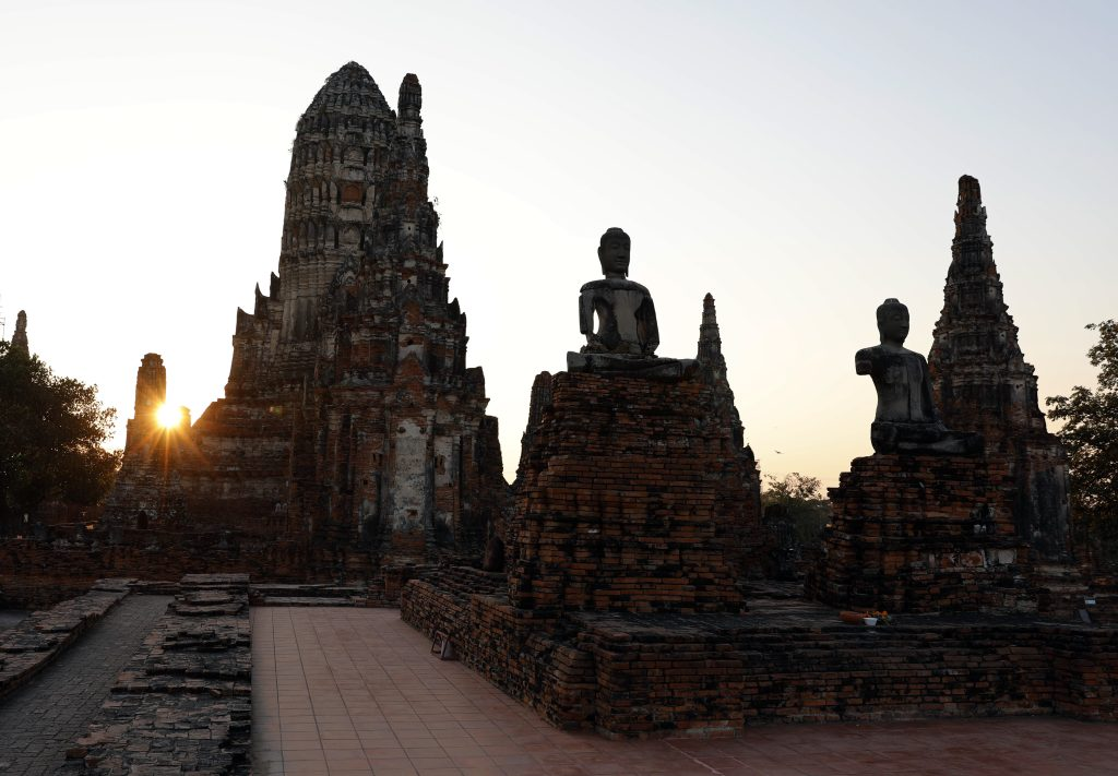 Sunset, Wat Chaiwatthanaram, Ayutthaya