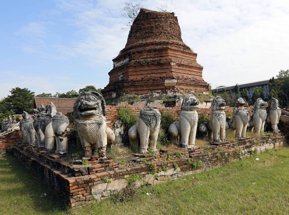Wat Thammikarat, Ayutthaya