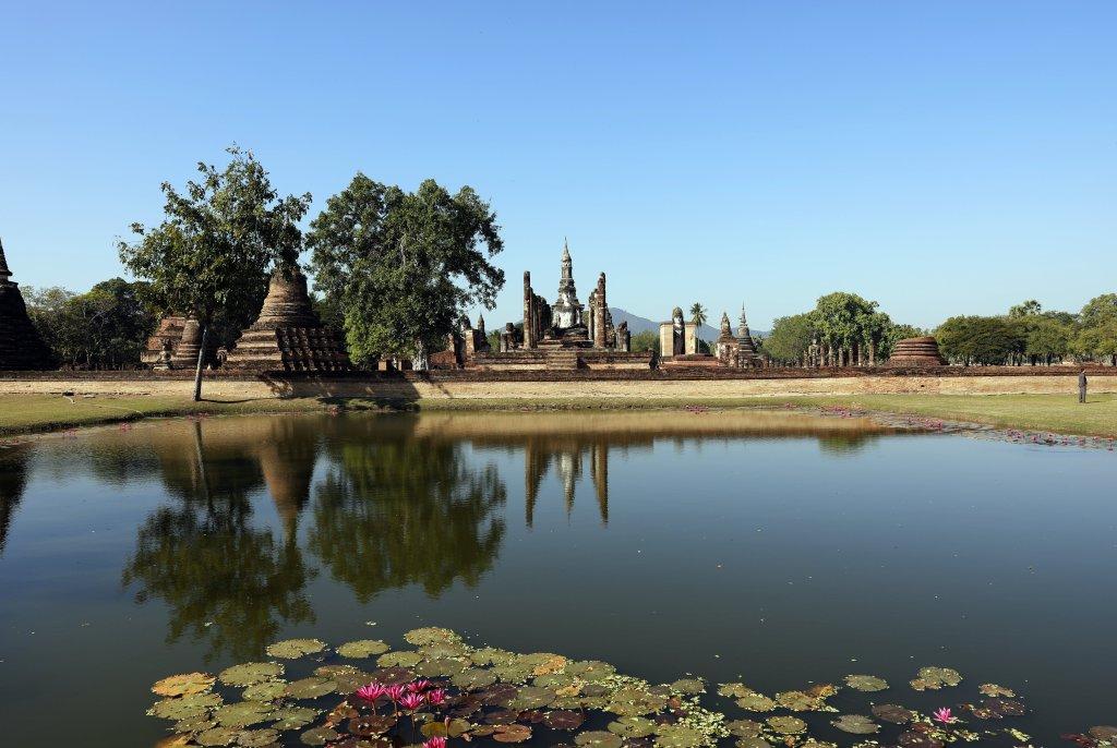 Wat Mahatat, Sukhothai