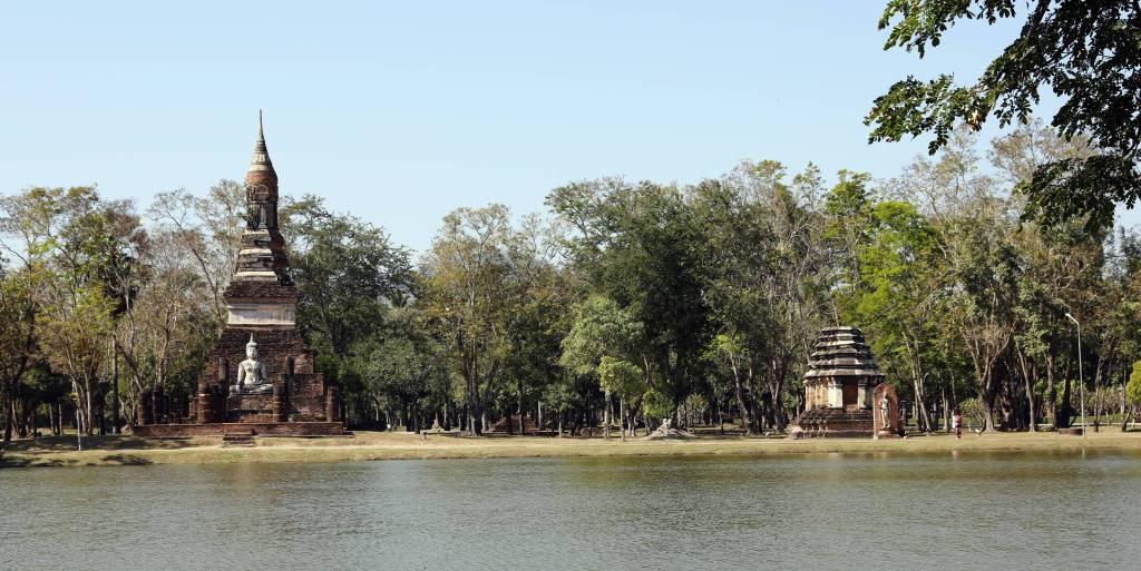 Wat Traphang, Sukhothai