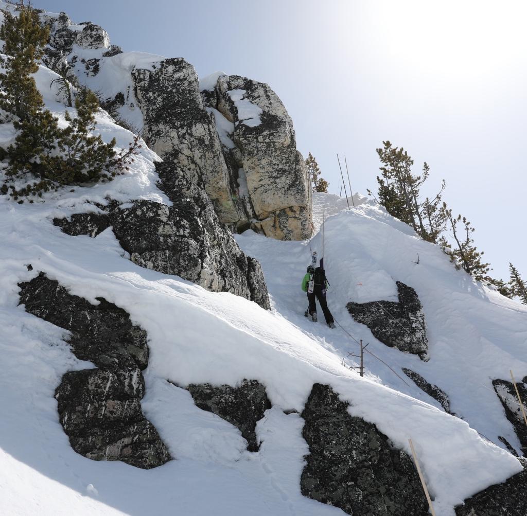 Bootpacking to T2, Kicking Horse Mountain Resort