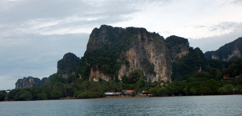 Approaching Railay from Krabi