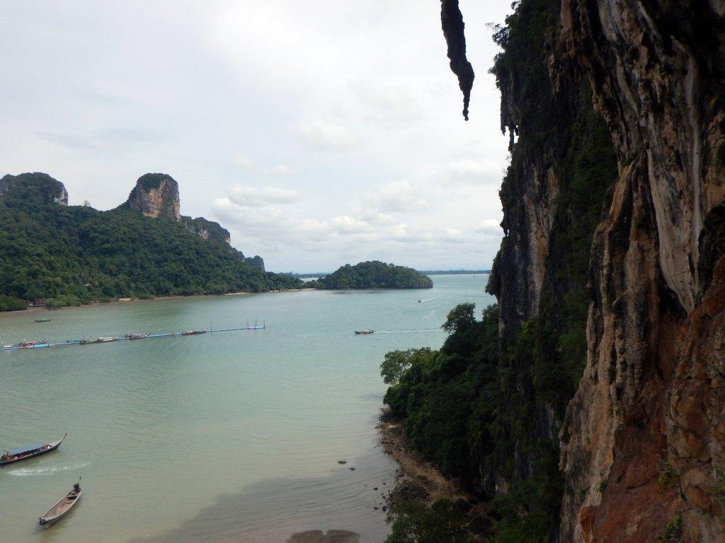 View from climb, Phra Nang Beach, Railay