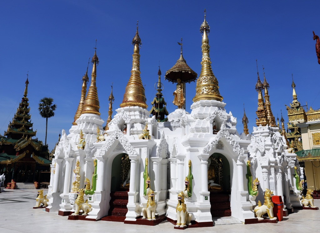Shewdagon Pagoda, Yangon