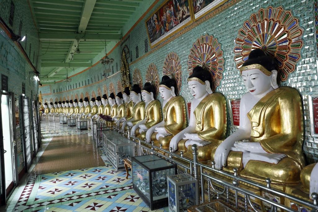 U Min Thonze Pagoda, Sagaing Hill