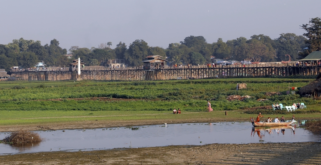 U-Bein Bridge, Amarapura