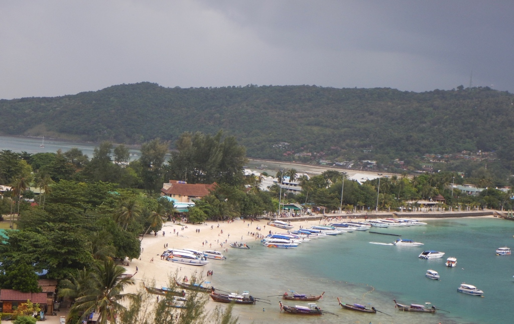 View from Tonsai Towers, Koh Phi Phi Don