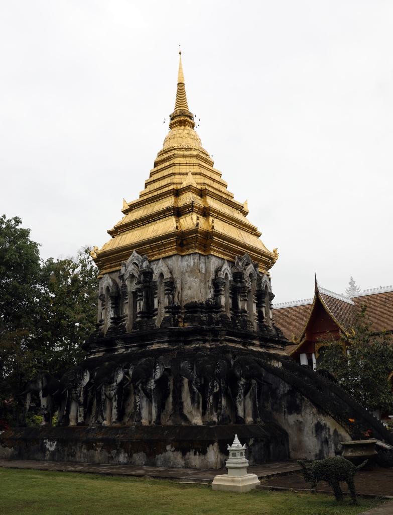 Stupa, Wat Chiang Man, Chiang Mai