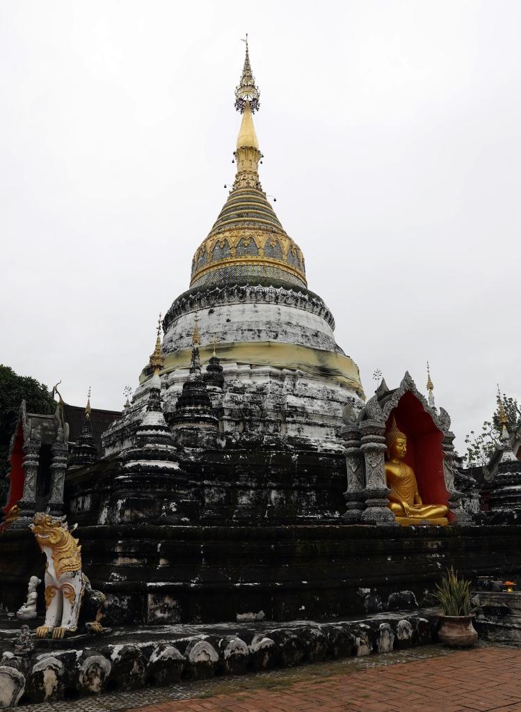 Stupa at Wat Buppharam, Chiang Mai