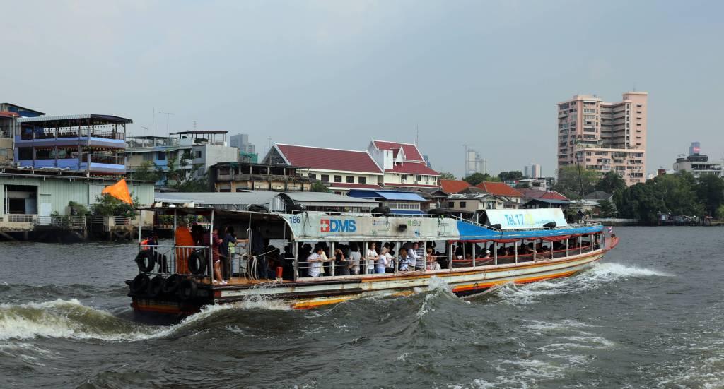 Ferry on Chao Phraya River, Bangkok