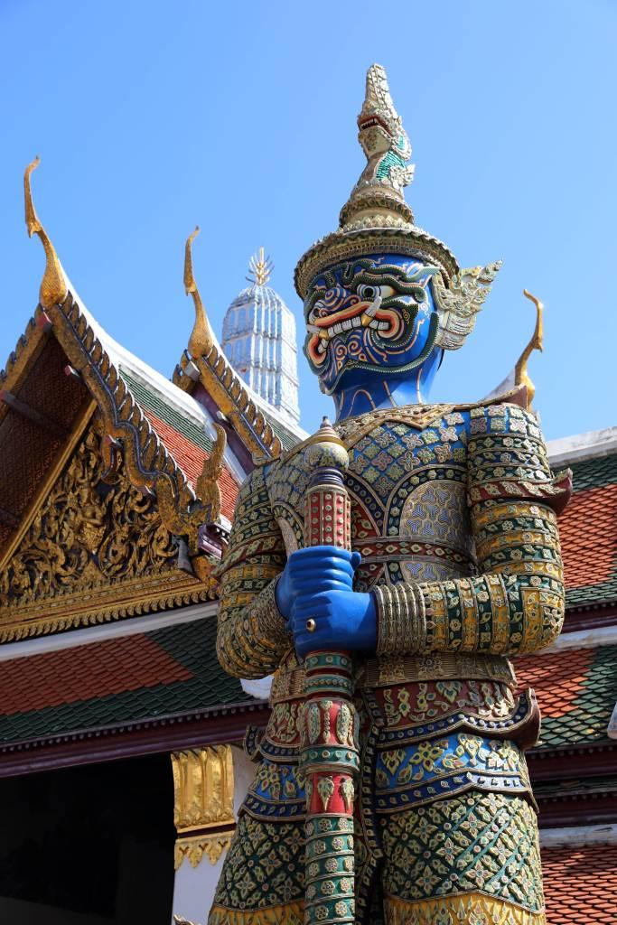 Yaksha, Wat Phra Kaew, Bangkok