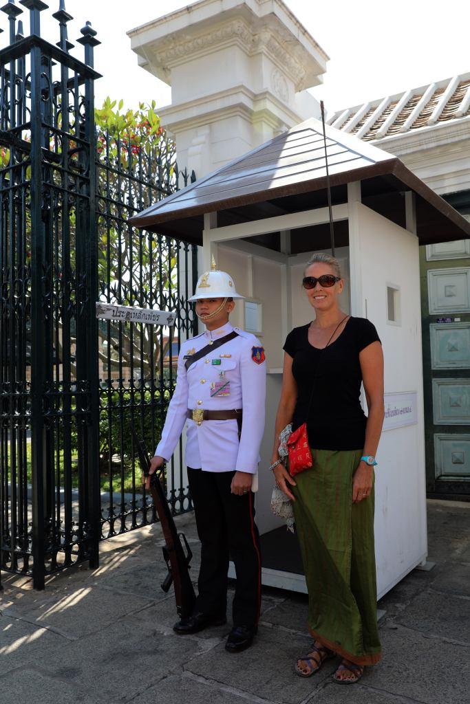 Guard, Grand Palace, Bangkok