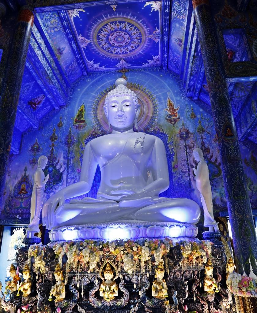 Inside Blue Temple, Chiang Rai