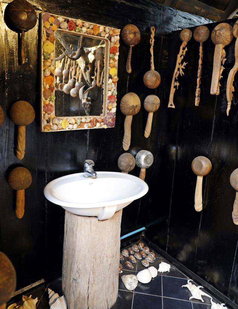 Bathroom in the Black House