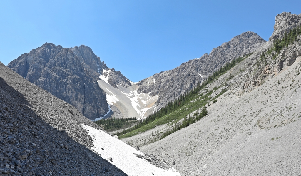 View from Cory Pass, Banff National Park
