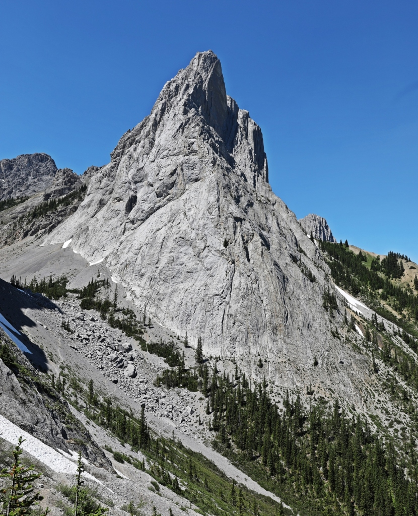 Mt. Louis from Cory Pass -Edith Pass Loop, Banff Natonal Park
