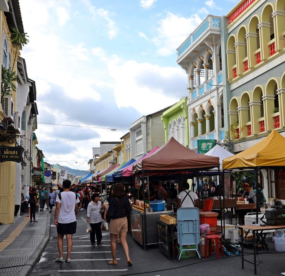 Walking Street Market, Old Town, Phuket Town